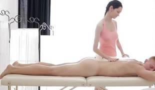 Teen massage goes by fair means
