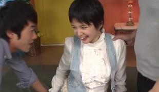 Avid Japanese slut Sakura Aida in Amazing JAV uncensored Teen video