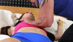 Joseline Kelly in I Can't Believe You're Doing This - FamilyStrokes