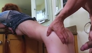 Dolly Little in Dolly Little Likes It Coarse And Hard  - AbuseMe