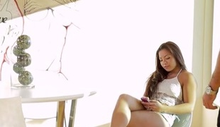 Morgan Lee in Stripped-Down - PassionHD
