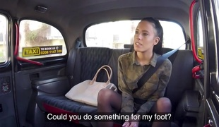Abigail Ash & Michael Fly in Lucky Taxi Drivers Physio Fuck - FakeTaxi