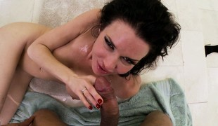 Compilation of babes property blooming with massive POV cumshots