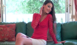 Hot pussy masturbation with hawt porn suitor Lorena involving act