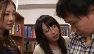 Chika Arimura & Minori Hatsune in Chika And Minori take A study Break - TeensOfTokyo