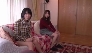 Hottest Japanese slut Nanase Otoha, Miku Abeno, Cocoa Aisu, Saki Hatsuki in Crazy college, pov JAV video