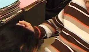 Arabian girl enjoying some hardcore fucking after oral-sex