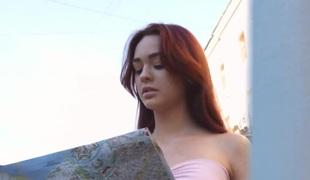 Casual Teen Sex - Teen redhead sex in a big city