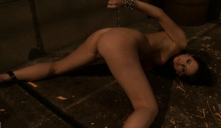Neighbour girls gets on touching the bulk sexual experimentation of her evil-minded master
