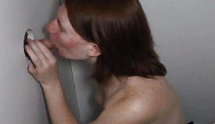 Teen Acne Red Head Slut Engulfing Glory Aperture Dong