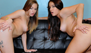 Mila & Sydney Cole in Two Strumpets Play a Dirty Game - RealSlutParty