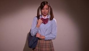 Best Japanese girl Karina Nishida in Eager college JAV video