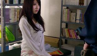 Arisa Misato in Sensei Arisa fucks the janitor - EritoAvStars