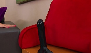 Angel Smalls & Dredd & Le Wood in Angel's Biggest Black Cock Arse Fuck - EvilAngel
