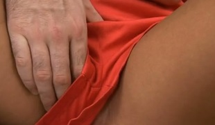 Ungentlemanly is dynamic of wanton joy from dude's doggy song pounding