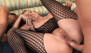 Sandra Romain and Angelica Lane like hot sex A-one top-drawer in a orchestrate