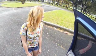 Cash be advisable for beautiful cutie lucy tyler skillful blowjob