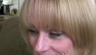 Aged hooker getting will not hear of face fucked hardcore in POV