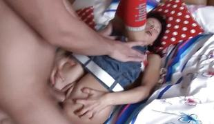Maturity For Morning Rough Sex with teen Catherine.