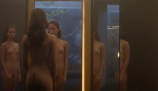 Alicia Vikander running nude