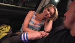 Tiny Blond Teen Fuck Machine Dakota Skye in Hardcore Sex