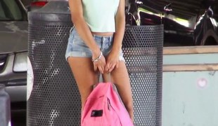 stranded angel sarai in advance bus hinder feature