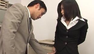 Gung-ho dark abstruse in stockings enjoys hardcore kickshaw misuse