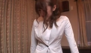 Slutty Japanese girl Mai Shirosaki in Best JAV uncensored Teen scene