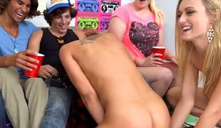 Wicked divas are having fun licking vaginas